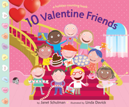 10 Valentine Friends - eBook  -     By: Janet Schulman     Illustrated By: Linda Davick