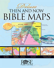 Deluxe Then and Now &#174 Bible Maps - eBook   -     By: Rose Publishing