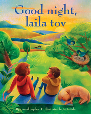 Good night, laila tov - eBook  -     By: Laurel Snyder     Illustrated By: Jui Ishida