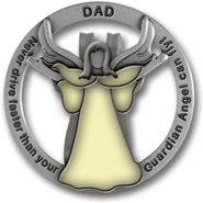 Dad Visor Clip, Glow-In-the- Dark  -