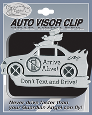 Don't text and Drive Visor Clip   -