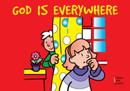 God Is Everywhere Coloring Book   -     By: Carine Mackenzie     Illustrated By: Derek Matthews