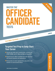 Master the Officer Candidate Tests - eBook  -     By: Scott A. Ostrow