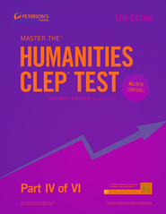 Master the Humanities CLEP Test: Part IV of VI - eBook  -     By: Peterson's