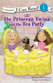 The Princess Twins and the Tea Party - eBook  -     By: Mona Hodgson     Illustrated By: Red Hansen