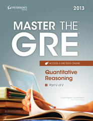 Master the GRE: Quantitative Reasoning: Part V of V - eBook  -     By: Peterson's