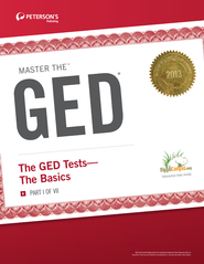 Master the GED: The GED Tests-The Basics: Part I of VII - eBook  -     By: Peterson's