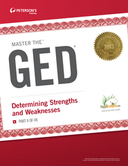 Master the GED: Determining Strengths and Weaknesses: Part II of VII - eBook  -     By: Peterson's