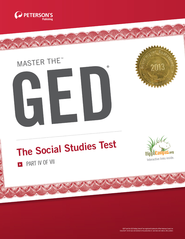 Master the GED: The Social Studies Test: Part IV of VII - eBook  -     By: Peterson's