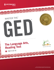 Master the GED: The Language Arts, Reading Test: Part VI of VII - eBook  -     By: Peterson's