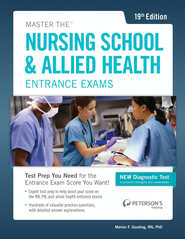 Master the Nusing School & Allied Health Entrance Exams - eBook  -