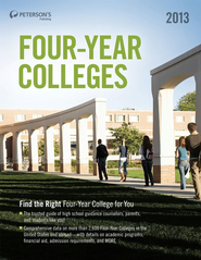Four-Year Colleges 2013 - eBook  -     By: Peterson's