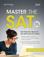 Master the SAT 2013 - eBook  -     By: Peterson's