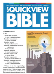 NIV Quickview Bible / Special edition - eBook  -     By: Zondervan