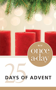 Once-A-Day 25 Days of Advent Devotional - eBook  -     By: Zondervan