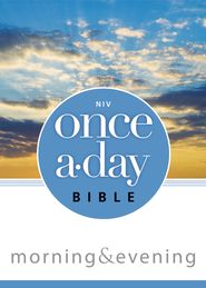 NIV Once-A-Day Morning and Evening Bible / Special edition - eBook  -     By: Zondervan Bibles