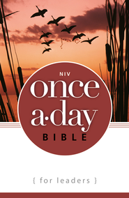 NIV Once-A-Day Bible for Leaders / Special edition - eBook  -     By: Zondervan Bibles