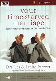 Your Time-Starved Marriage, Groupware DVD   -     By: Dr. Les Parrott, Dr. Leslie Parrott
