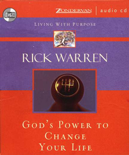 God's Power to Change Your Life Audiobook on CD  -     By: Rick Warren