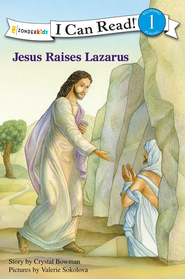 Jesus Raises Lazarus - eBook  -     By: Crystal Bowman