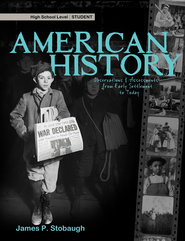 American History-Student: Observations & Assessments from Early Settlement to Today - eBook  -     By: James Stobaugh