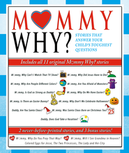 Mommy Why?: Stories That Answer Your Child's Toughest Questions - eBook  -