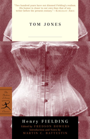 Tom Jones - eBook  -     Edited By: Fredson Bowers(Ed.)     By: Henry Fielding