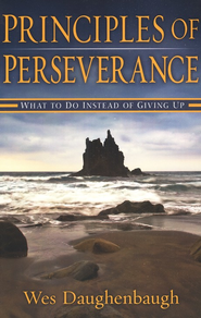 Principles Of Perserverance: What to Do Instead of Giving Up - eBook  -     By: Wes Daughenbaugh