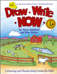 Draw Write Now, Book 1: On The Farm, Kids And Critters, Storybook Characters - By: Marie Hablitzel, Kim Stitzer