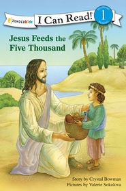 Jesus Feeds the Five Thousand - eBook  -     By: Crystal Bowman