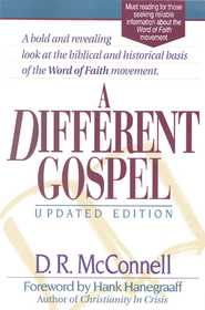 A Different Gospel, Updated Edition -- Slightly Imperfect   -     By: D.R. McConnell