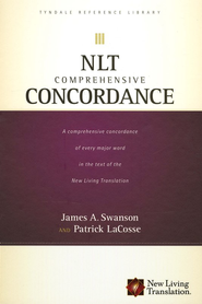 NLT Comprehensive Concordance  -     By: James A. Swanson