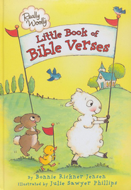 Really Woolly Little Book of Bible Verses  -     By: Bonnie Rickner Jensen     Illustrated By: Julie Sawyer Phillips