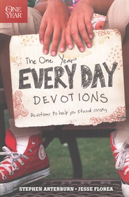 The One Year Every Day Devotions  -     By: Stephen Arterburn, Jesse Florea
