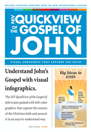 NIV QuickView of the Gospel of John - eBook  -