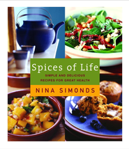 Spices of Life: Simple and Delicious Recipes for Great Health - eBook  -     By: Nina Simonds