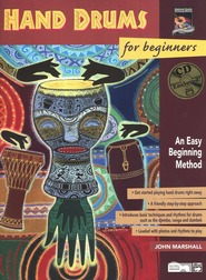 Hand Drums for Beginners, Book & Enhanced CD   -     By: John Marshall