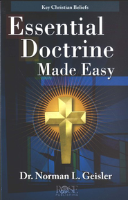 Essential Doctrine Made Easy, Pamphlet - eBook   -     By: Rose Publishing