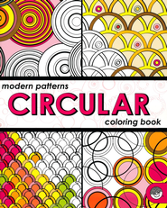 Modern Patterns: Circular Coloring Book   -