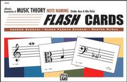 Essentials of Music Theory, Note Naming Flash Cards   -