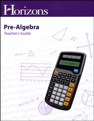 Horizons Pre-Algebra Teacher's Guide  -