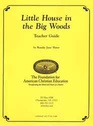 Syllabus for Little House in Big Woods   -