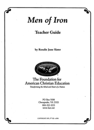 Syllabus for Men of Iron: English Chivalry and Seeds of Constitutional Liberty  -