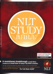 NLT Study Bible, Hardcover, Thumb-Indexed   -