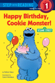 Happy Birthday, Cookie Monster (Sesame Street) - eBook  -     By: Sesame Street