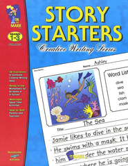 Story Starters Gr. 1-3 - PDF Download  [Download] -