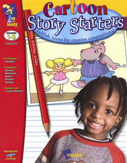 Cartoon Story Starters Gr. 1-3 - PDF Download  [Download] -