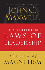 Law 9: The Law of Magnetism: Follow Them and People Will Follow You - eBook  -     By: John Maxwell