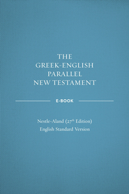 ePub-Greek-English Parallel New Testament with NA27 Text - eBook  -