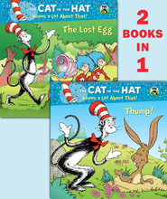 Thump!/The Lost Egg (Dr. Seuss/Cat in the Hat) - eBook  -     By: Tish Rabe     Illustrated By: Aristides Ruiz, Joe Mathieu